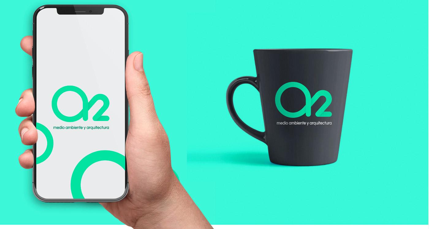 Diseño de logotipo para A2