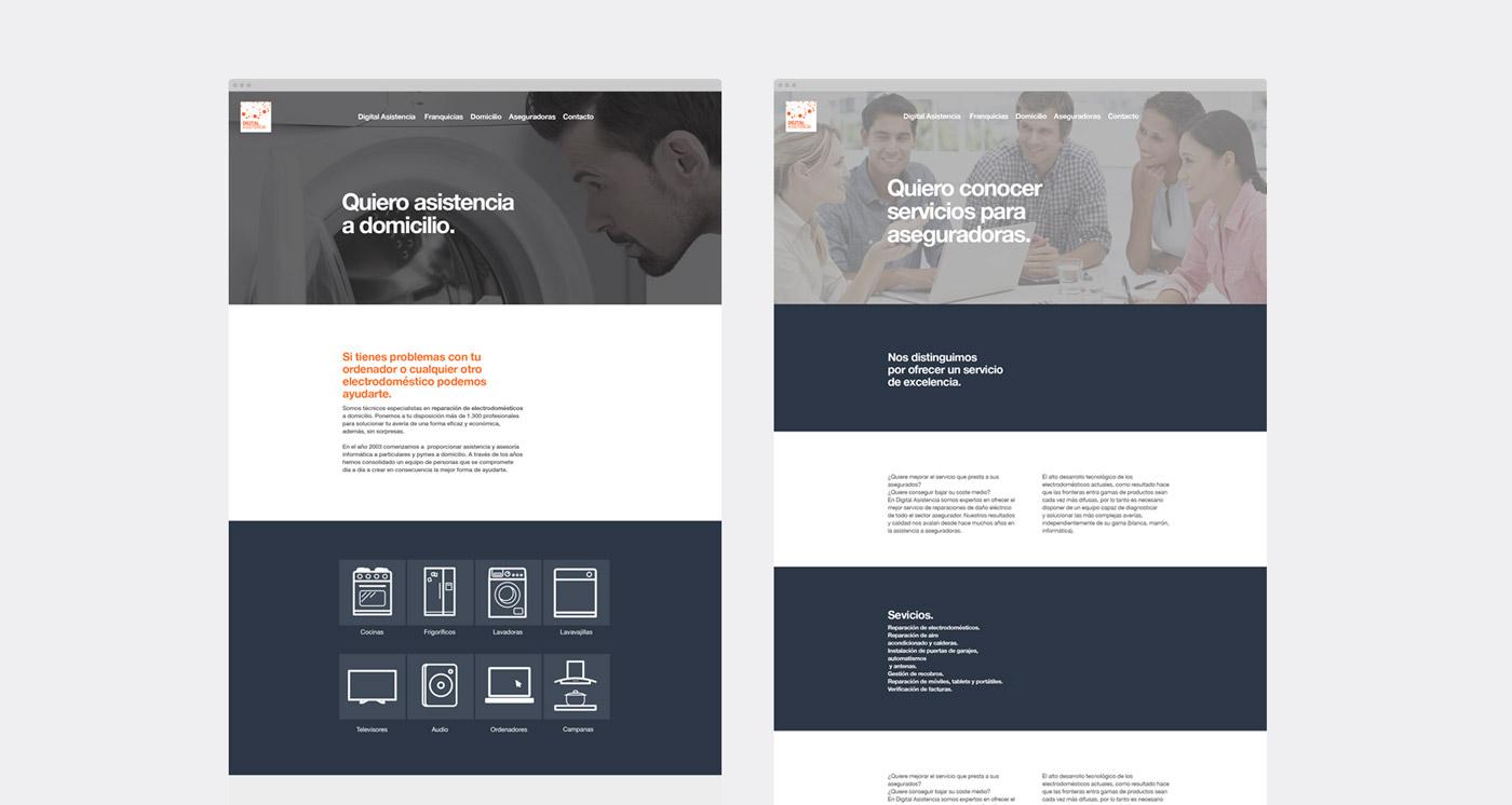 Diseño web Digital Asistencia