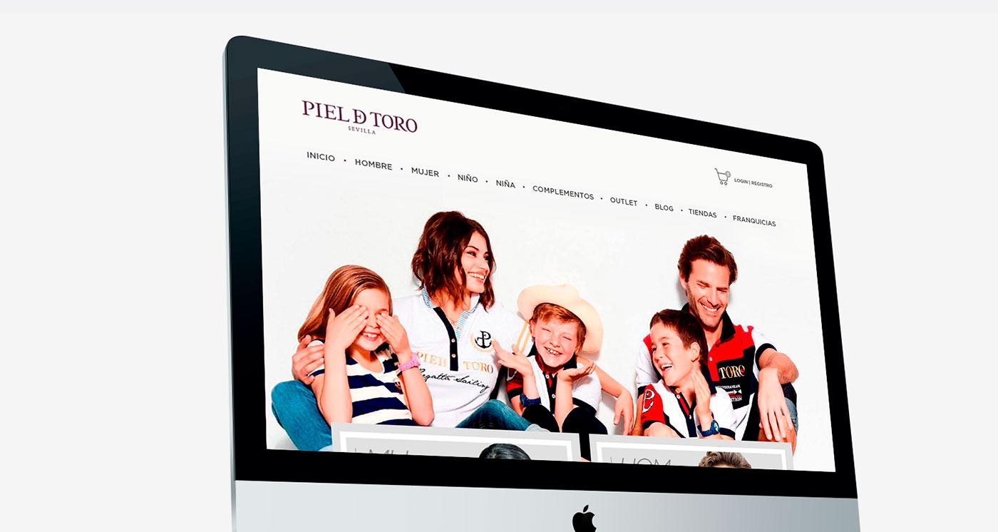 Diseño web para Piel de toro